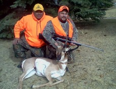 Deer hunting in the Rocky Mountains